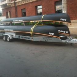 30.Remorca de transportat barci