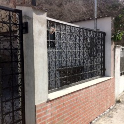 39.Pavilion gard din fier forjat