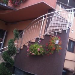 45.Balustrada din inox