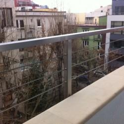 49.Balustrada din inox cu cabluri