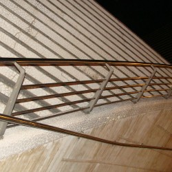 30. Balustrada din inox