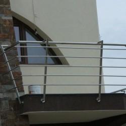 27. Balustrada din inox pentru balcon