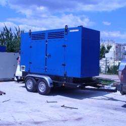 16. remorca de transport generatoare