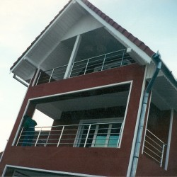 15. Balustrada balcon din inox