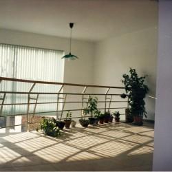 12. Brass handrail