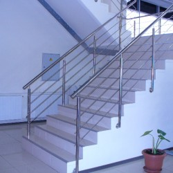 13. Stainless steel handrail