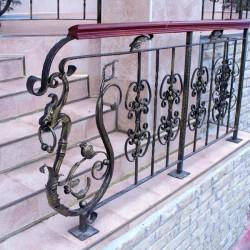 20. Wrought iron handrail