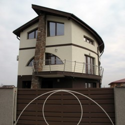 28. Balcony stainless steel handrail